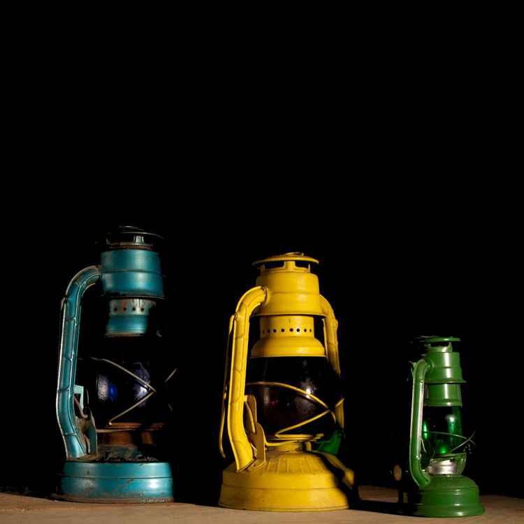 Lantern still life -