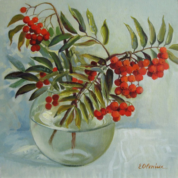 Still life with rowan - Image 0