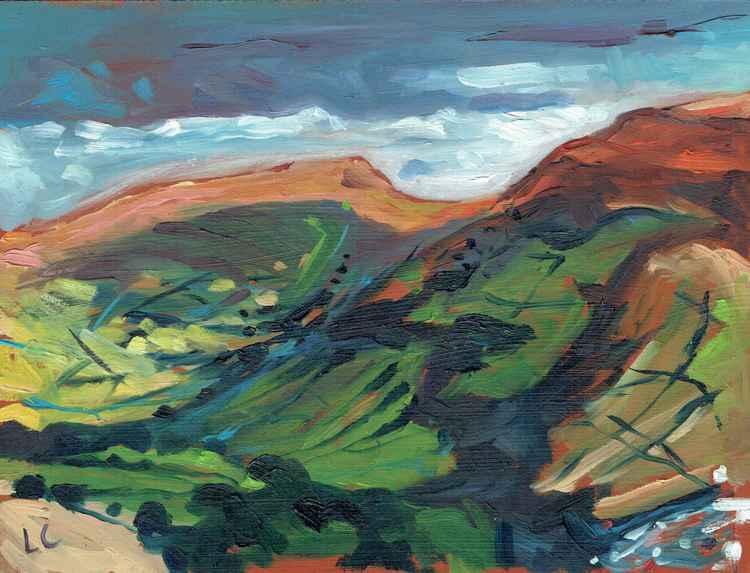 Pen-Cerrig-Calch & Mynydd Pen-y-Fal.   No.20 of 365 Project
