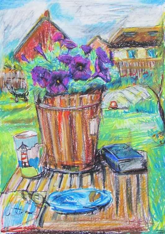 Garden reading -