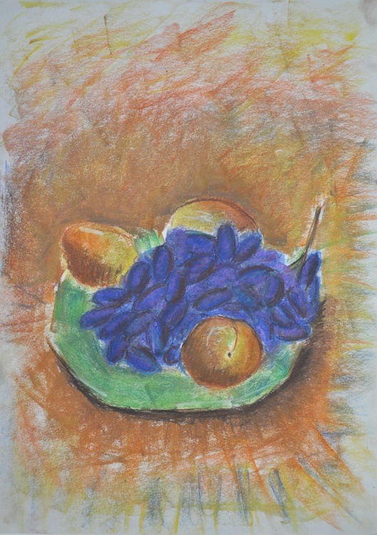 Still life with grapes - Image 0