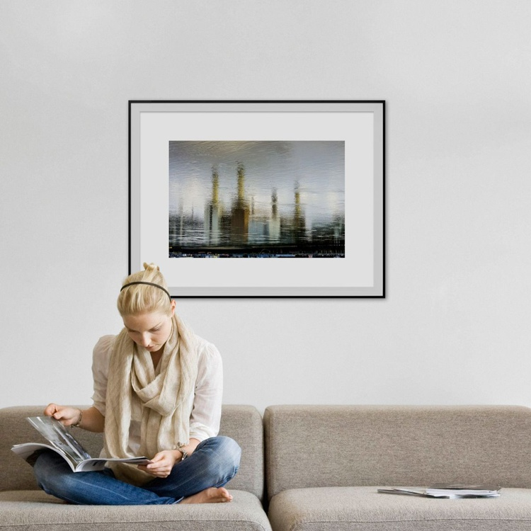 """BATTERSEA WATER 2015 Limited edition  2/50 30""""x20"""" - Image 0"""