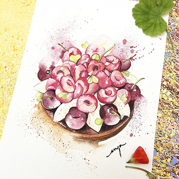 Cherries tart - Image 0