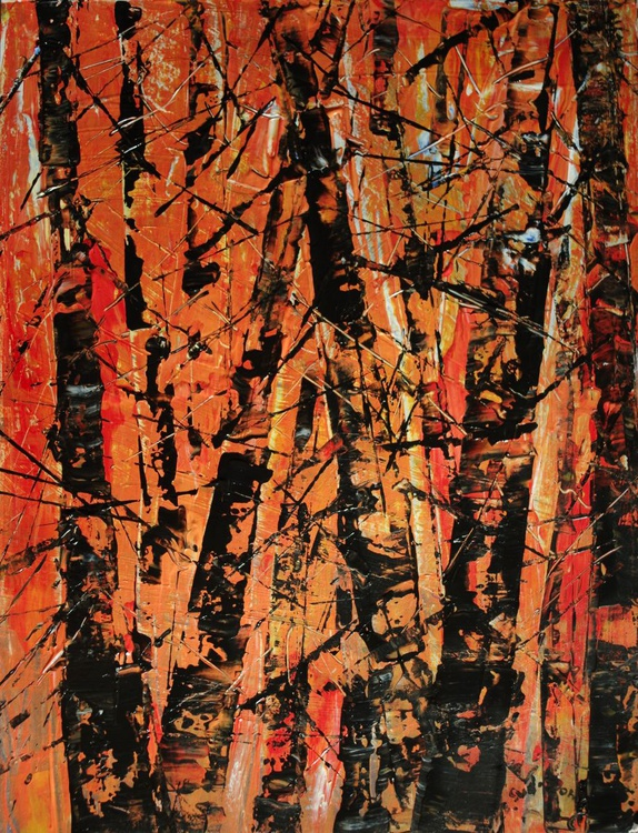 Colours of forest - orange - Image 0