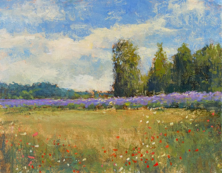 Summer Lavender 11x14 inches - Image 0