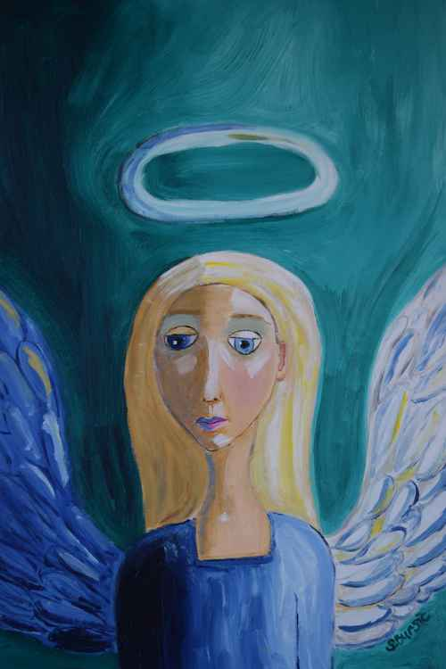 Guardian Angel watching over you -