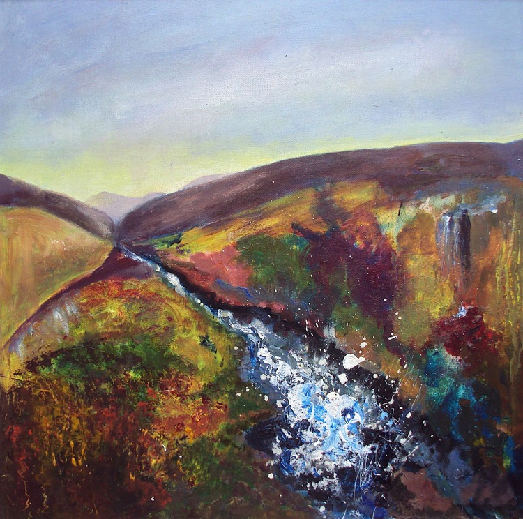 Scottish Fells & Stream - Image 0