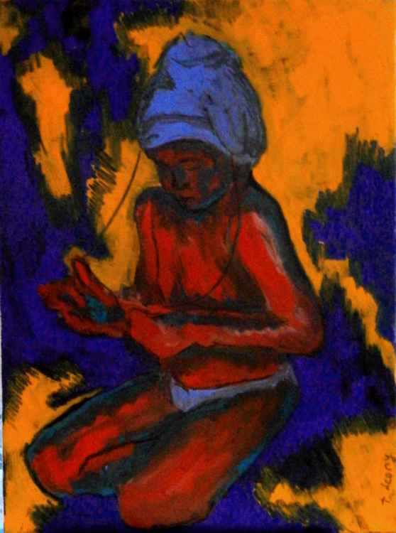 Boy in a turban -