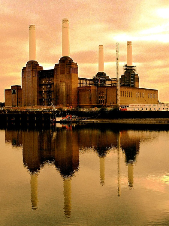 "ORIGINAL BATTERSEA 2006 Limited edition  3/50 12""x16"" - Image 0"