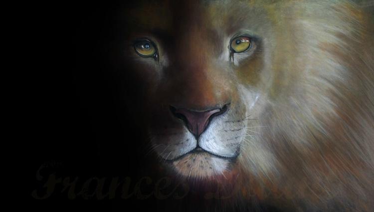 Pride, large framed pastel art - Image 0