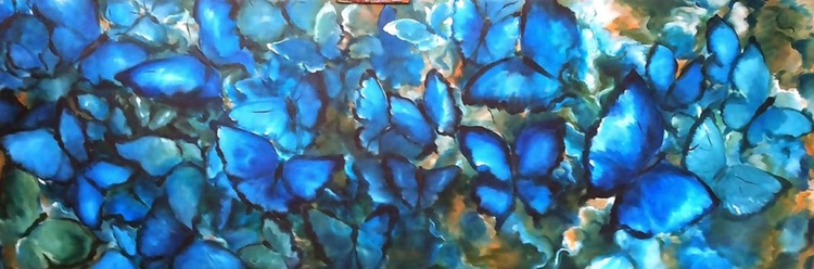 """""""Bleu Butterfly"""" - Image 0"""