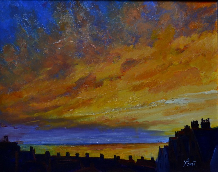 SKY AND SEA OF FIRE - Image 0