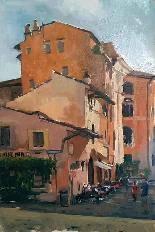 Trastevere buildings -