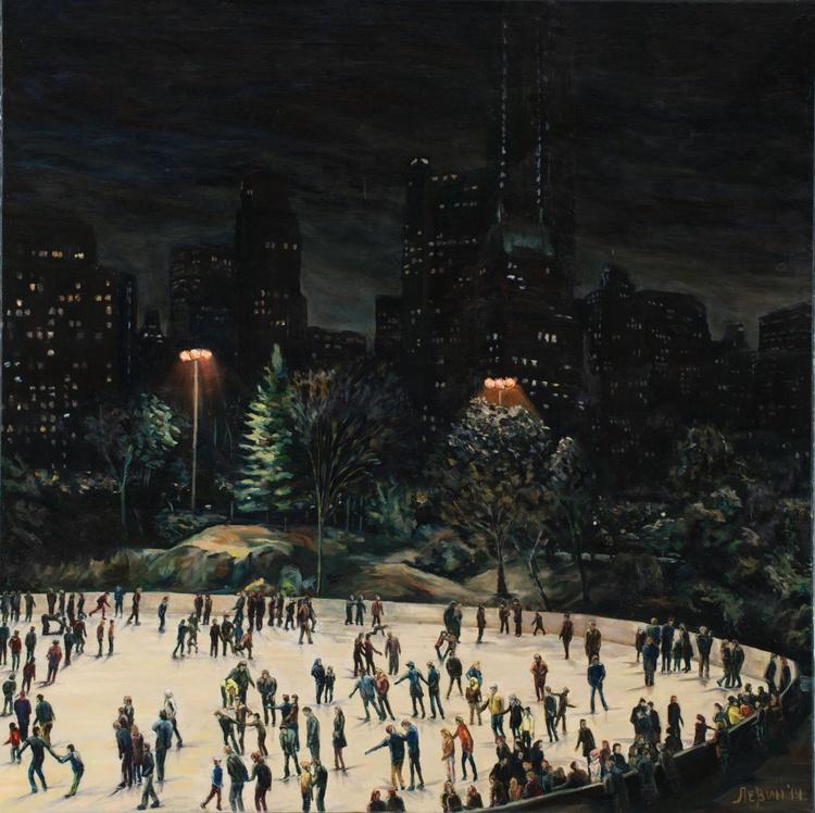 Skating rink in Central Park - Image 0