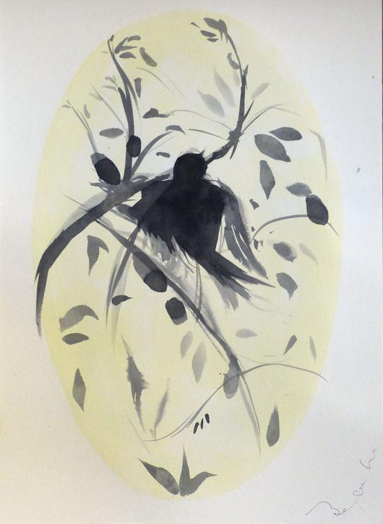 The Birds of Carros #54, 29x42 cm - Image 0