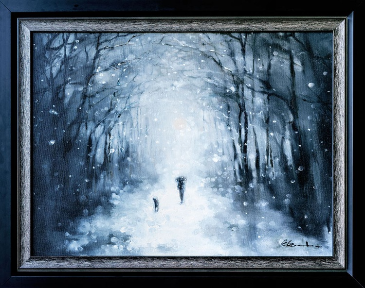 'Stroll in the snow' - Image 0