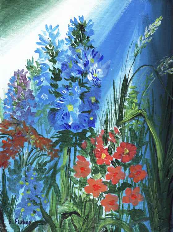 bluebells -