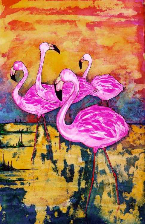 Flamingoes 2 -