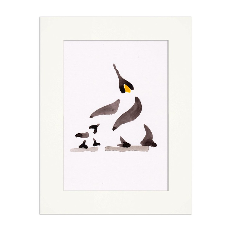 Penguin and a chick - Image 0
