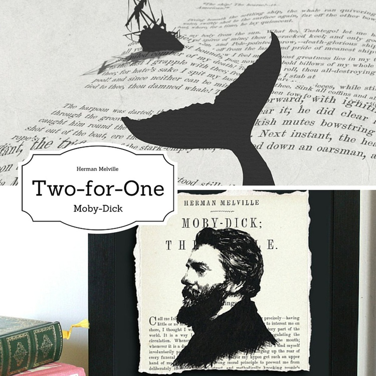 Melville - Moby-Dick; or The Whale (Plus free Limited Edition Artwork) - Image 0