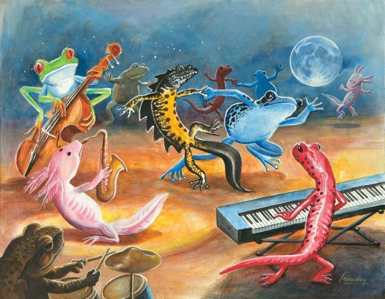 Salamander Ball Jazz Band 3 - Image 0