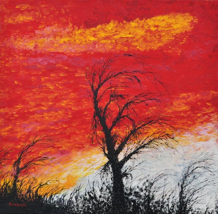 Landscape in Red - Image 0