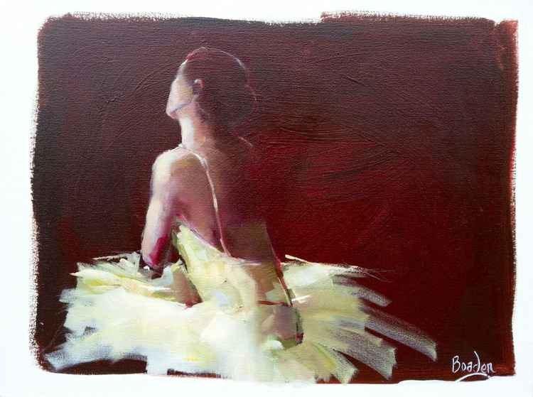 Ballerina in Yellow 1