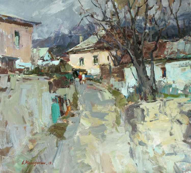 Spring in Yalta -