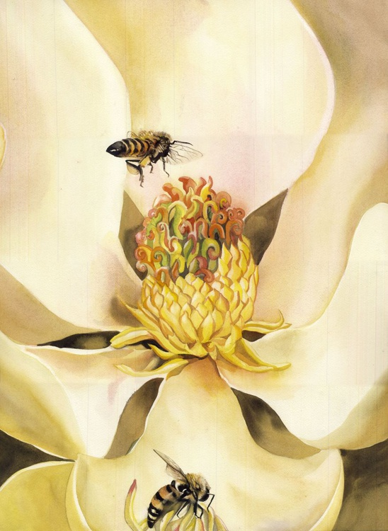 Beauty and the bees - Image 0