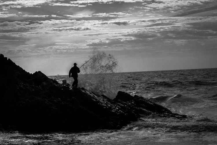 'One man, one rod and the sea' -