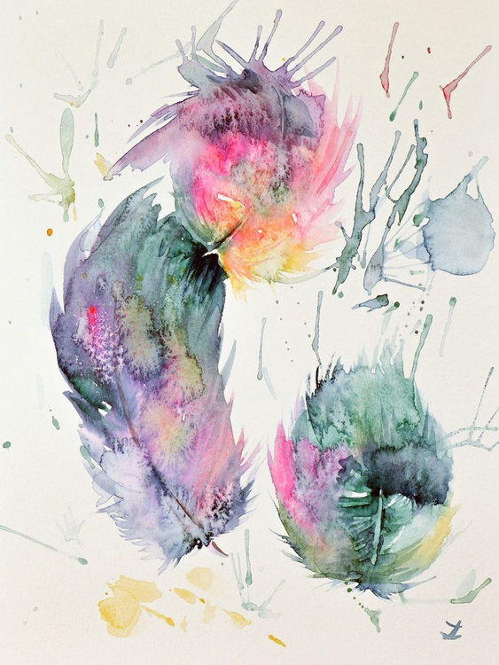 Colorful Feathers - Image 0