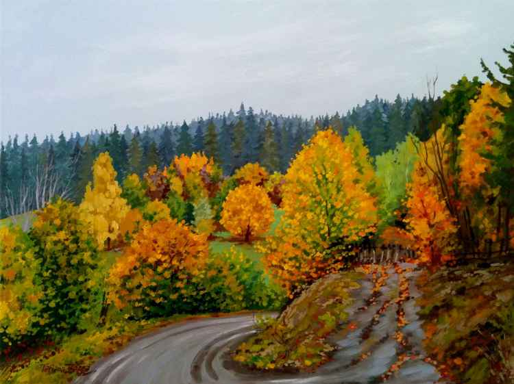 Autumn - 61×46cm - 24x18in -