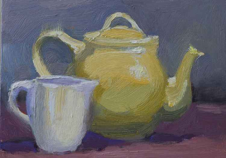 Lemon Teapot -