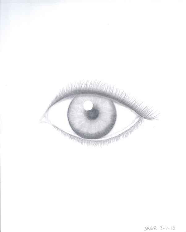 0024 Eye 04 Drawing