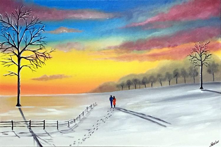 Winter Sunset Walk - Image 0