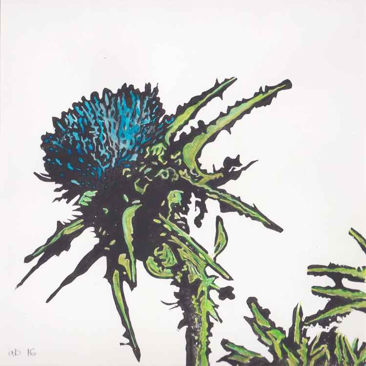 Spikes 2 - Scottish thistle -