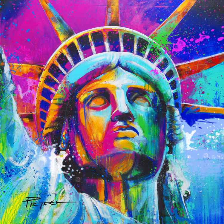 Liberty Enlightenning the world -