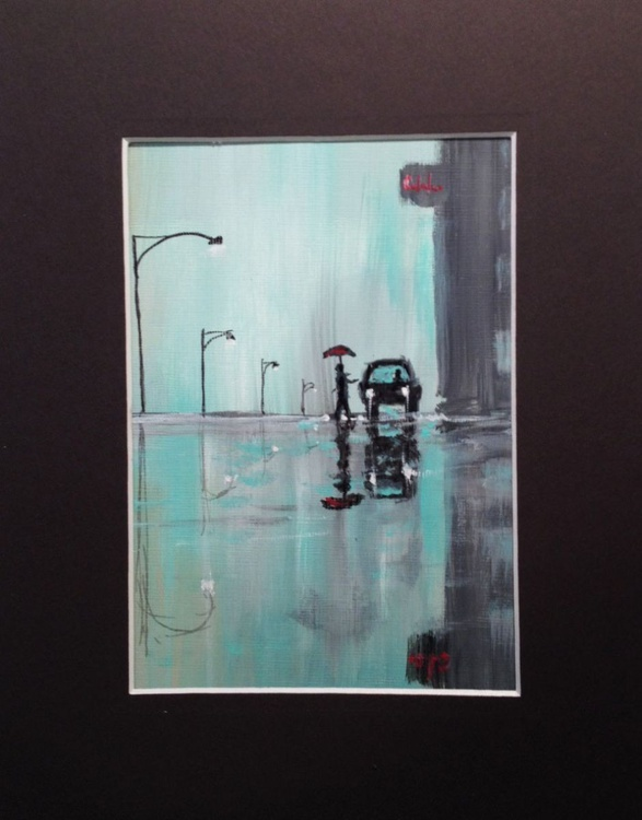 """New York Minute"" - MUSIC INSPIRED ARTWORK - Image 0"