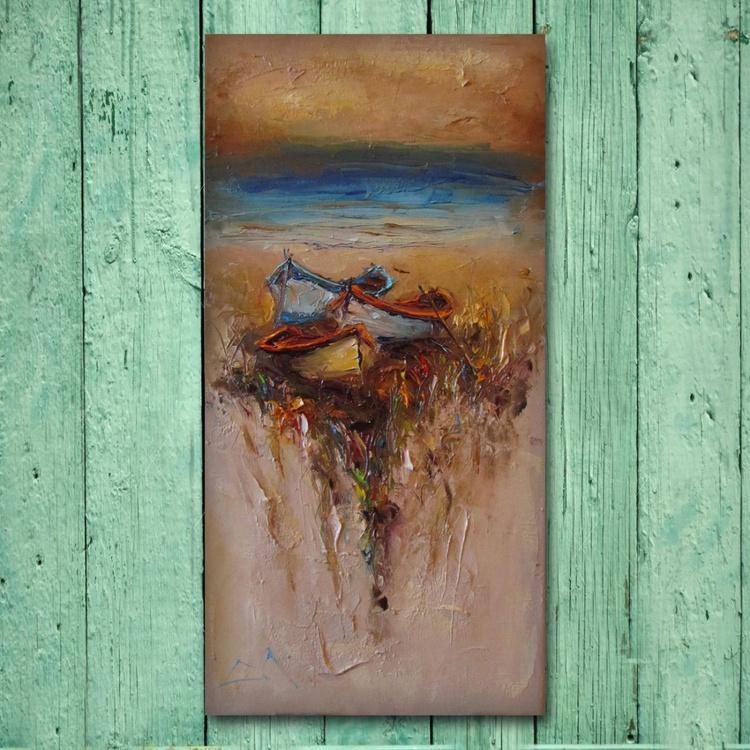 Boundless-2, Landscape  painting, free shipping - Image 0