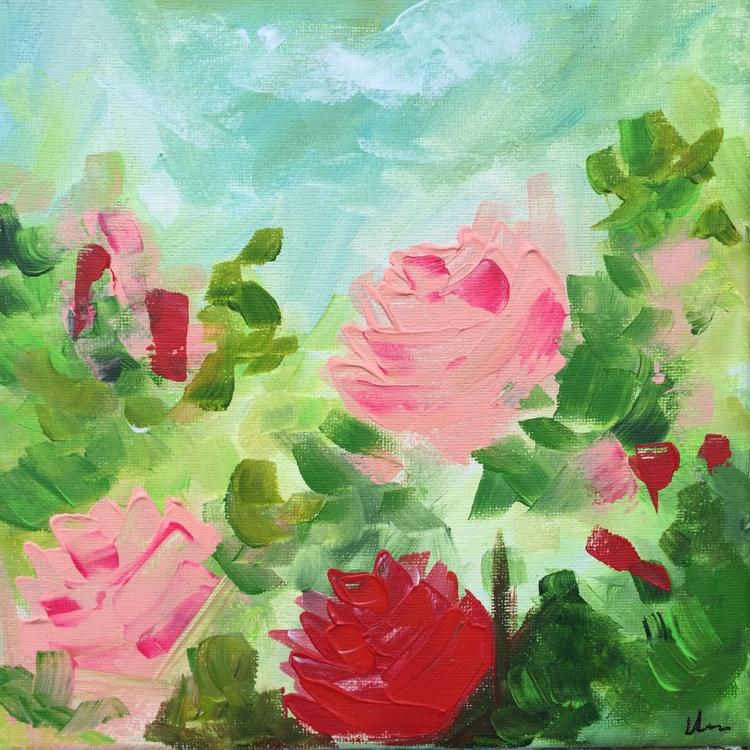 Mini Study - Vintage Pink Roses #2 - Image 0