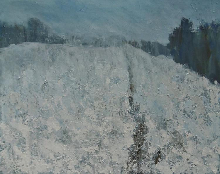 Slow Melting Snow, Mid Winter - Image 0
