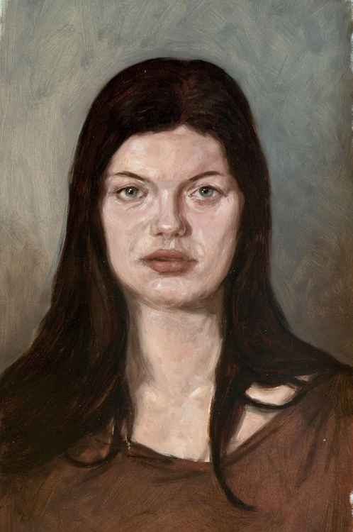 portrait of a danish woman -
