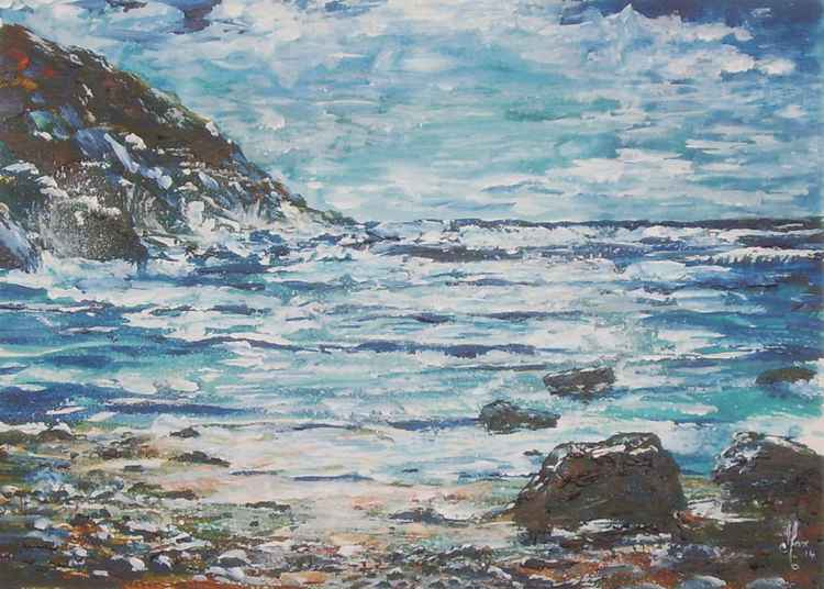 Peel Beach, Isle of Man