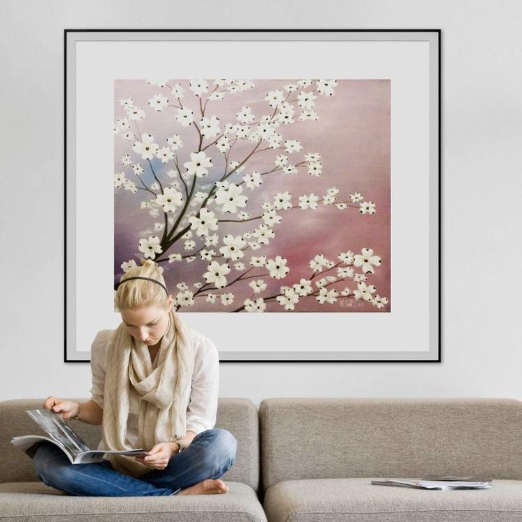 """Lavender and Dogwood"" Commission Artwork - Image 0"