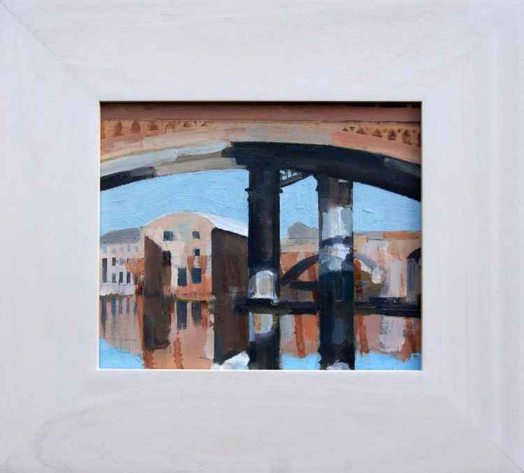 Castlefield 1 Manchester Framed -