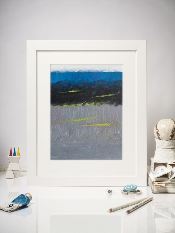 Seascape with three hills - Image 0