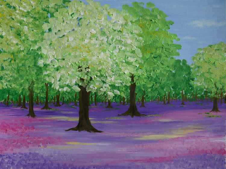 Woodland Springtime -