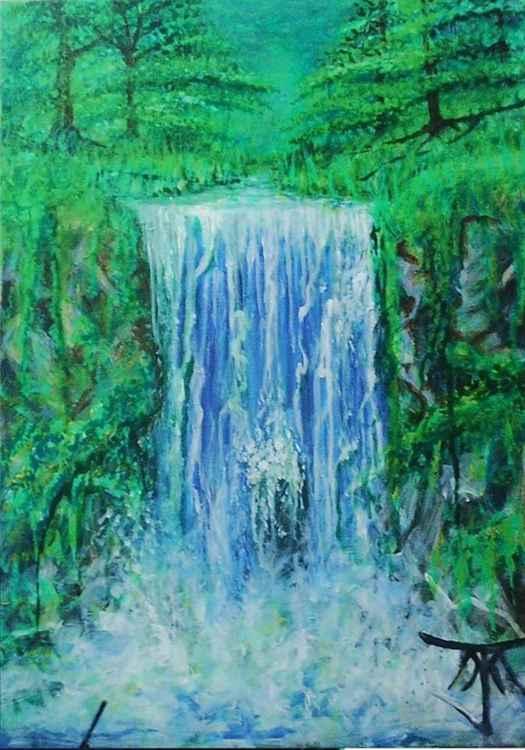 Emerald Waterfall -