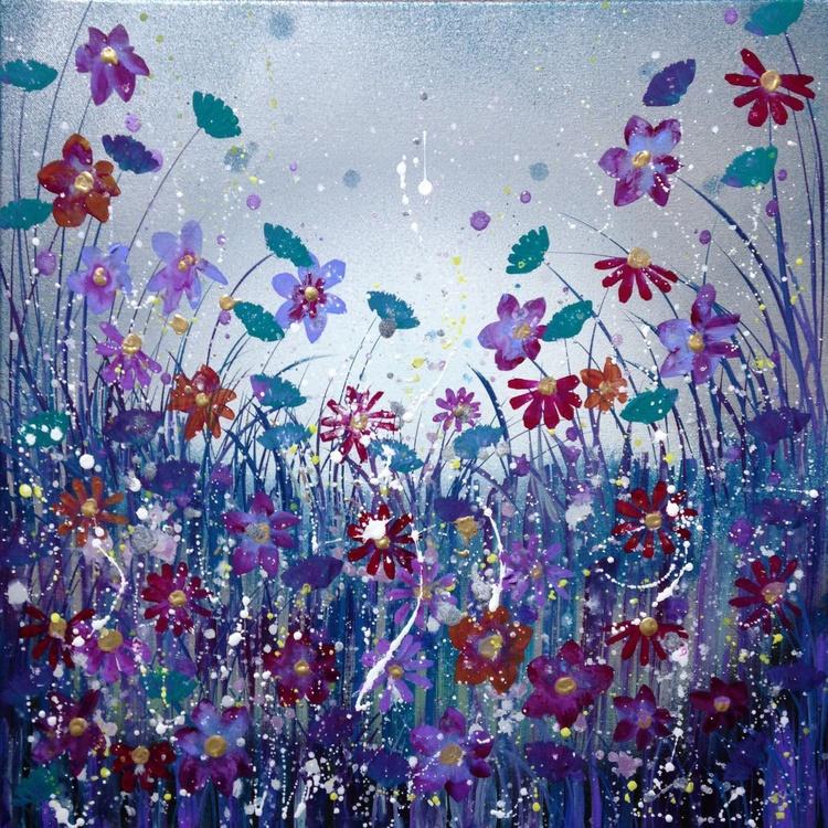 Purple cosmos sparkle - Image 0