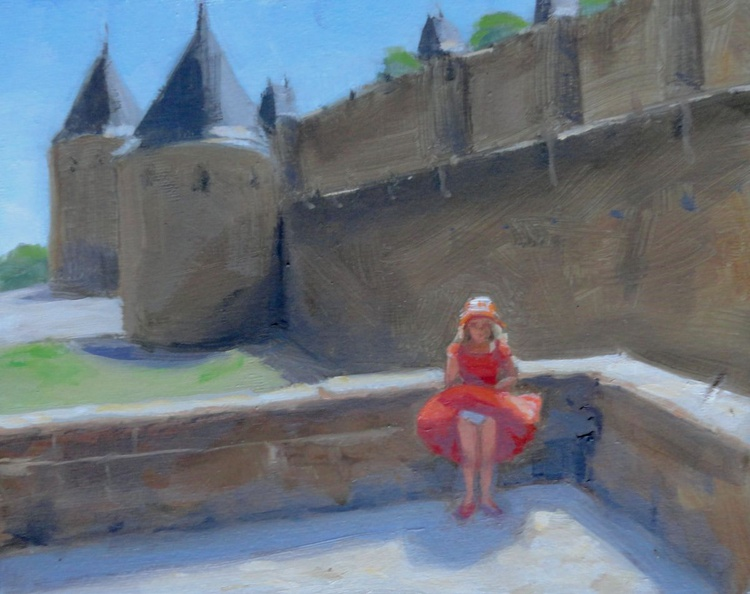 """""""Marilyn the Younger.  Carcassonne, France."""" - Image 0"""